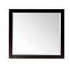 Avanity Lexington 36-in W x 32-in H Light Espresso Rectangular Bathroom Mirror