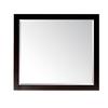 Avanity Lexington 36-in W x 32-in H Light Espresso Rectangular Bathroom Mirror