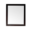 Avanity 32-in H x 24-in W Lexington Light Espresso Rectangular Bathroom Mirror
