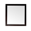 Avanity Lexington 28-in W x 32-in H Light Espresso Rectangular Bathroom Mirror