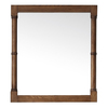 Avanity 32-in H x 28-in W Montage Weathered Oak Rectangular Bathroom Mirror