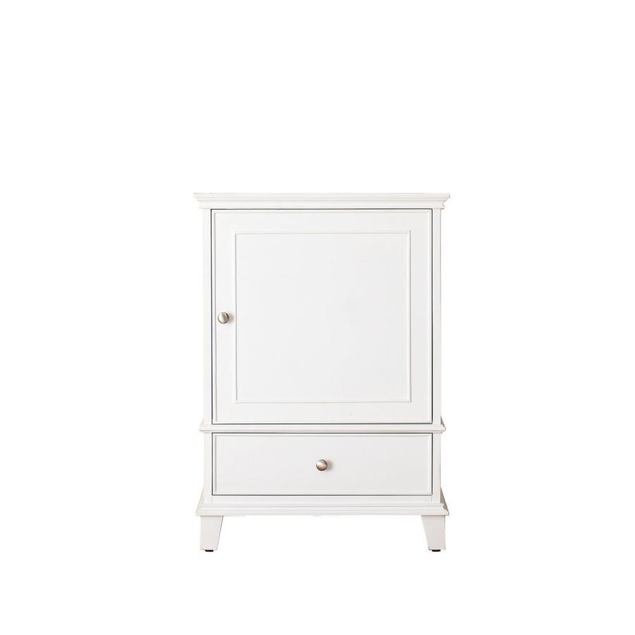 Shop avanity windsor white transitional bathroom vanity for Bathroom 24 inch vanity