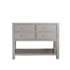 Avanity Brooks Chilled Gray Traditional Bathroom Vanity (Common: 42-in x 22-in; Actual: 42-in x 21.5-in)