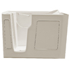 Endurance 52-in x 29-in Biscuit Rectangular Walk-In Bathtub with Left-Hand Drain