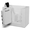 Endurance 39-in x 27-in White Rectangular Walk-In Bathtub with Right-Hand Drain