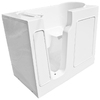 Endurance 46-in x 26-in White Rectangular Walk-In Bathtub with Left-Hand Drain