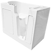 Endurance 46-in x 26-in White Rectangular Walk-In Bathtub with Right-Hand Drain