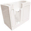 Endurance 46-in x 26-in Biscuit Rectangular Walk-In Bathtub with Left-Hand Drain