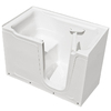 Endurance 60-in x 36-in White Rectangular Walk-In Bathtub with Right-Hand Drain