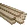 Top Choice 3-3/8-in x 3-3/8-in x 96-in Redwood Construction-Common S4S Lumber