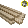 Top Choice 3-3/8-in x 3-3/8-in x 12-ft Redwood Construction-Common S4S Lumber