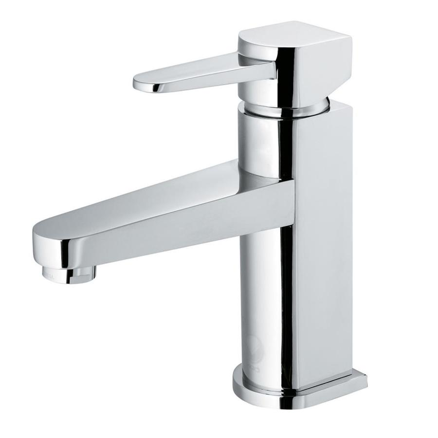 Shop Vigo Chrome 1 Handle Single Hole Watersense Bathroom Sink Faucet At