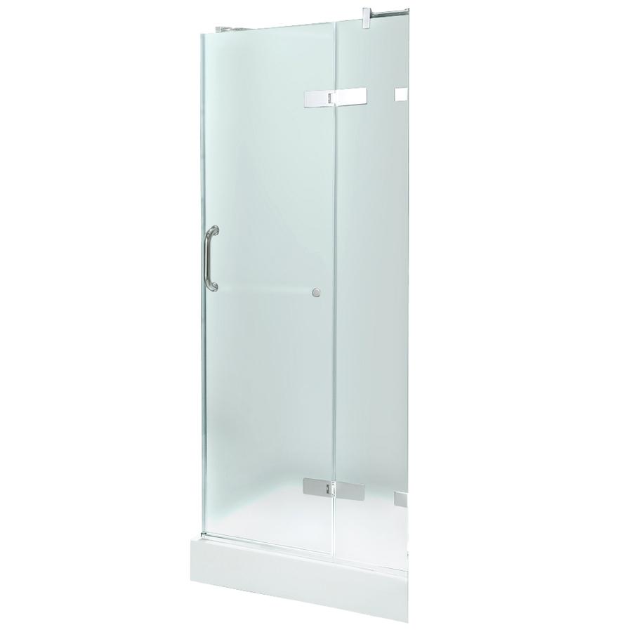 Shop VIGO Frameless Showers Chrome Walls Not Included Square 3 Piece Corner S