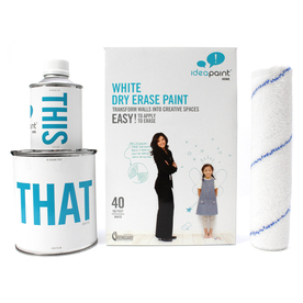 IdeaPaint 40 sq ft White Gloss Dry Erase Paint