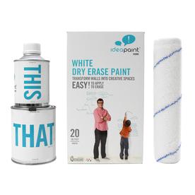 IdeaPaint White Gloss Dry Erase Paint (Actual Net Contents: 12.22-fl oz)