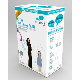 IdeaPaint Clear Gloss Dry Erase Paint (Actual Net Contents: 16.88-fl oz)