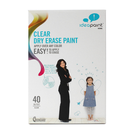 IdeaPaint 40 sq ft Clear Gloss Dry Erase Paint