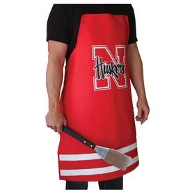 Grill Topper Nebraska Cornhuskers Red Cotton Grilling Apron