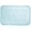 Moda at Home Serene 28-in x 18-in Aqua Cotton Bath Rug