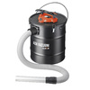 Cleva 5-Gallon Black Metal Ash Vacuum