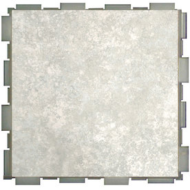 SnapStone Interlocking 12-Pack Mist Porcelain Floor Tile (Common: 6-in x 6-in; Actual: 6-in x 6-in)