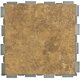 SnapStone Interlocking 12-Pack Driftwood Porcelain Floor Tile (Common: 6-in x 6-in; Actual: 6-in x 6-in)