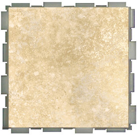 SnapStone 12-Pack Interlocking Shell Glazed Porcelain Floor Tile (Common: 6-in x 6-in; Actual: 6-in x 6-in)