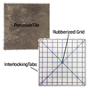 SnapStone Interlocking 4-Pack Metropolitan Porcelain Floor Tile (Common: 18-in x 18-in; Actual: 18-in x 18-in)