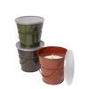Garden Treasures 5.12-in Classic Warm Pantone Green Candle