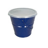 Garden Treasures 5.12-in Classic Cool Blue Candle