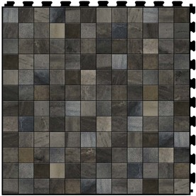 Shop Perfection Floor Tile Lvt 6 Piece 20 In X 20 In Gray