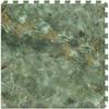 Perfection Floor Tile LVT 6-Piece 20-in x 20-in Green Floating Stone Luxury Vinyl Tile
