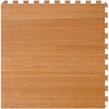 Perfection Floor Tile LVT 6-Piece 20-in x 20-in Maple Floating Wood Luxury Vinyl Tile