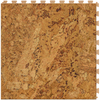 Perfection Floor Tile LVT 6-Piece 20-in x 20-in Cork Floating Wood Luxury Vinyl Tile