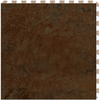 Perfection Floor Tile LVT 6-Piece 20-in x 20-in Brown Floating Stone Luxury Vinyl Tile