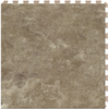 Perfection Floor Tile LVT 6-Piece 20-in x 20-in Gray Floating Stone Luxury Vinyl Tile
