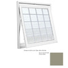 "Hy-Lite 37-1/2"" x 37-1/2"" Design Series Single Vinyl Double Pane Awning Window"