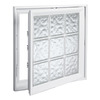 Hy-Lite 21-1/2-in x 45-1/2-in Design Series Vinyl Double Pane New Construction Casement Window