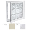 Hy-Lite 21-1/2-in x 53-1/2-in Design Series Vinyl Double Pane New Construction Casement Window