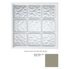 Hy-Lite 39.5-in x 39.5-in Glass Block Series Vinyl Glass Block Window