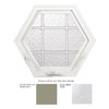 Hy-Lite 34-in x 29-1/2-in Design Series Single Vinyl Double Pane New Construction Awning Window