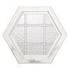 Hy-Lite 43-1/4-in x 37-1/2-in Design Series Single Vinyl Double Pane New Construction Awning Window