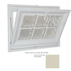 Hy-Lite 31-1/2-in x 37-1/2-in Classic Series Tilting Vinyl Double Pane New Construction Basement Hopper Window