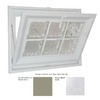Hy-Lite 31-1/2-in x 37-1/2-in Classic Series Tilting Vinyl Double Pane Basement Hopper Window