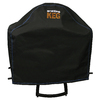 Broil King Keg Black with Blue Accent Stitching PVC 38-in Cover
