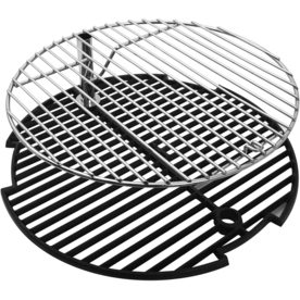Big Steel Keg Round Cast Iron Cooking Grate