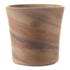 5-in H x 5-in W x 5-in D Sand Ceramic Indoor Pot