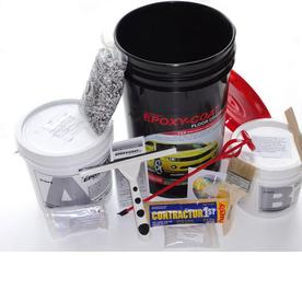 Epoxy-Coat 3-Gallon Interior High-Gloss Smoke Blue Garage Floor Coating Kit