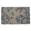 allen + roth Cream/Aqua Rectangular Door Mat (Common: 18-in x 30-in; Actual: 18-in x 30-in)