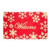 Holiday HOLIDAY PROMO Multicolor Rectangular Door Mat (Common: 18-in x 30-in; Actual: 17.6-in x 29.4-in)